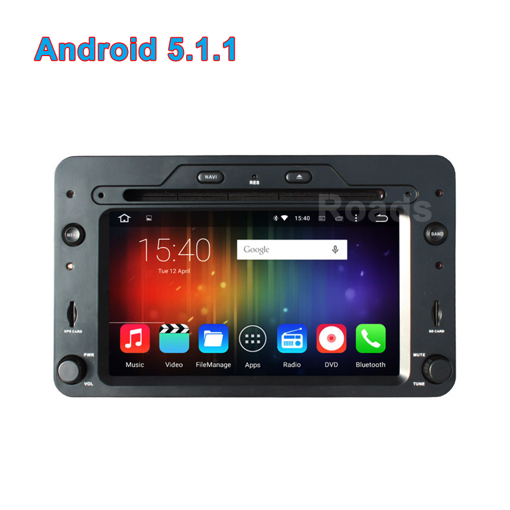 sale quad core android 5 1 1 car dvd gps for alfa romeo. Black Bedroom Furniture Sets. Home Design Ideas