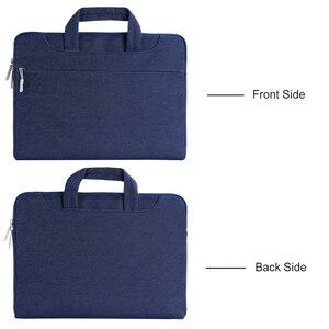 Image 5 - MOSISO Laptop Bag Case 15.6 15.4 13.3 Waterproof Notebook Shoulder Bags Women Men for MacBook Air Pro 13 15 inch  Computer Bag