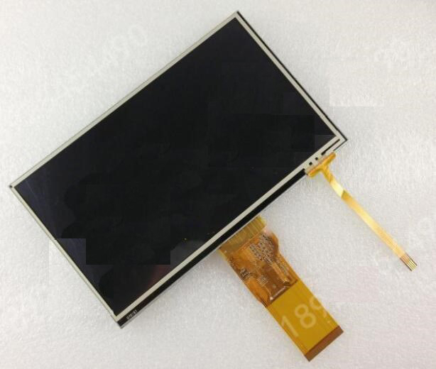 new TM070RBH10 lcd screen with touch screen