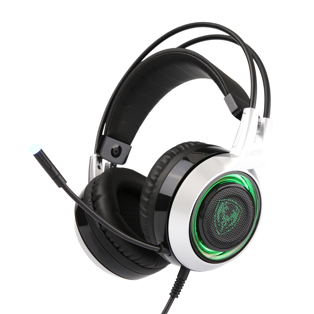 Original SOMIC G951 USB Gaming Headphones with Microphone for Computer Stereo Sound Gamer Gaming Headset with 3 LED Team set somic g951 original gaming headphone deep bass stereo sound usb headband with mic vibration led computer game headset
