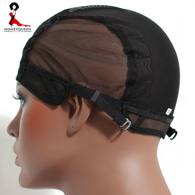 2 Pcs Double Lace Wig Caps For Making Wigs And Hair Weaving Stretch