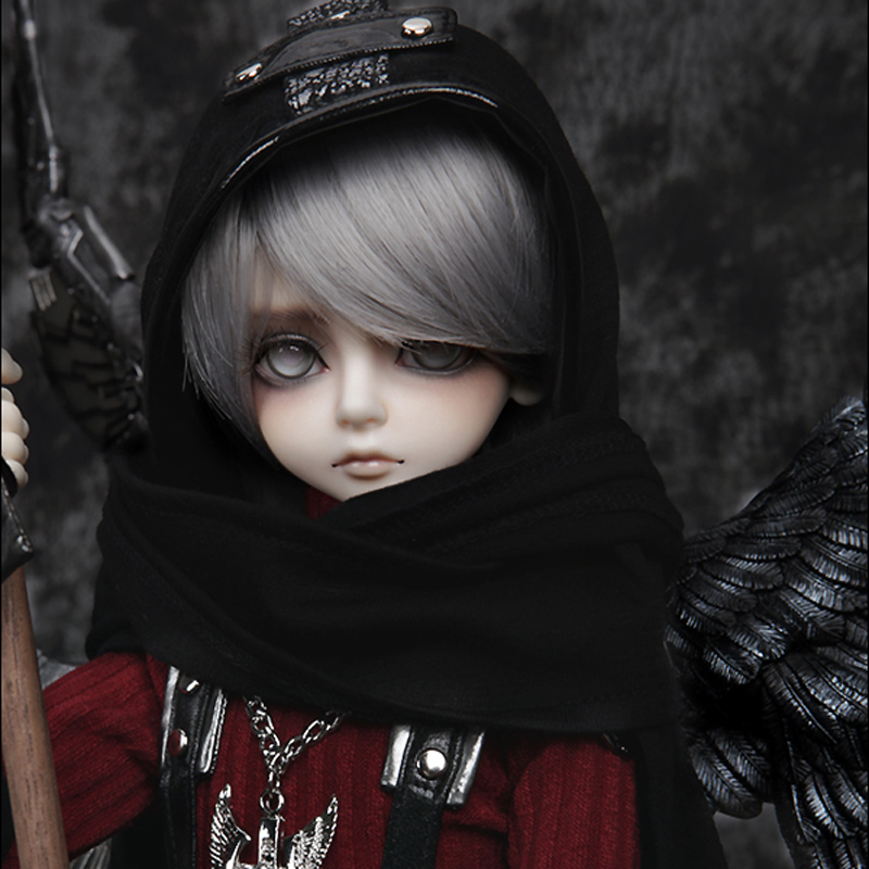 Free Shipping Fashion Style 1 4 BJD Doll BJD SD Bory Cool Joint Resin Doll Include