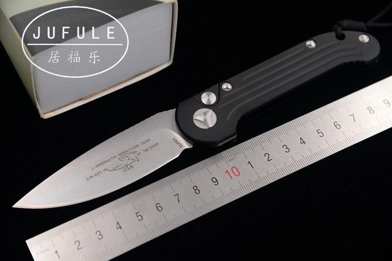 JUFULE Newest OEM Flipper folding Elmax blade Aluminum handle outdoor gear tactical camping hunting EDC tool