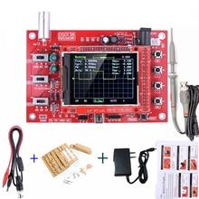 """DSO138 Oscilloscopio Digitale Bordo 2.4 """"TFT 1Msps Oscilloscopio Digitale Kit Scheda Con P6100 Sonda e di Carica"""