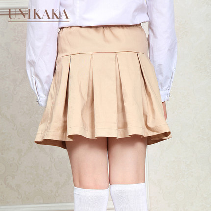 Pleated Khaki Skirt - Dress Ala