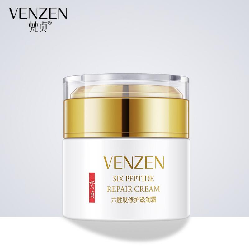 Six Peptide Face Cream Repair Skin Moisturizing Smoothing Anti Wrinkle Anti Aging Face Skin Care