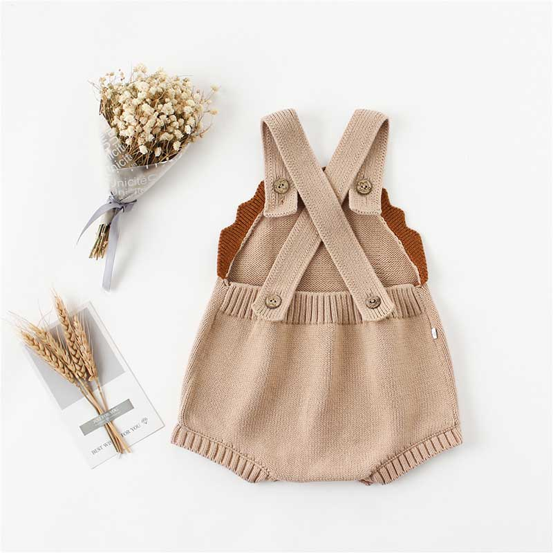 Baby Boys Girls Bodysuits With Woolen Ears Sweaters Buns Butterflies Conjoined Clothes Crawling Baby Jumpsuit Baby Rompers 6