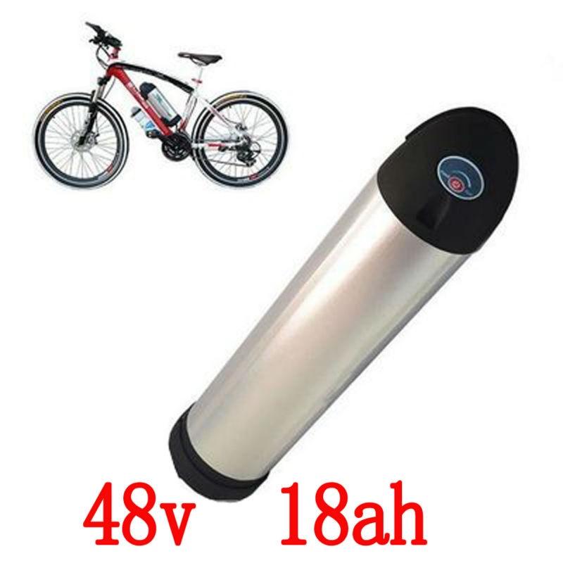 Ue US pas de taxe 48 V 18Ah 1000 w Li-ion bouilloire au Lithium batterie boîtier blanc pour LG 3350 mah batterie de bouteille d'eau de cellule