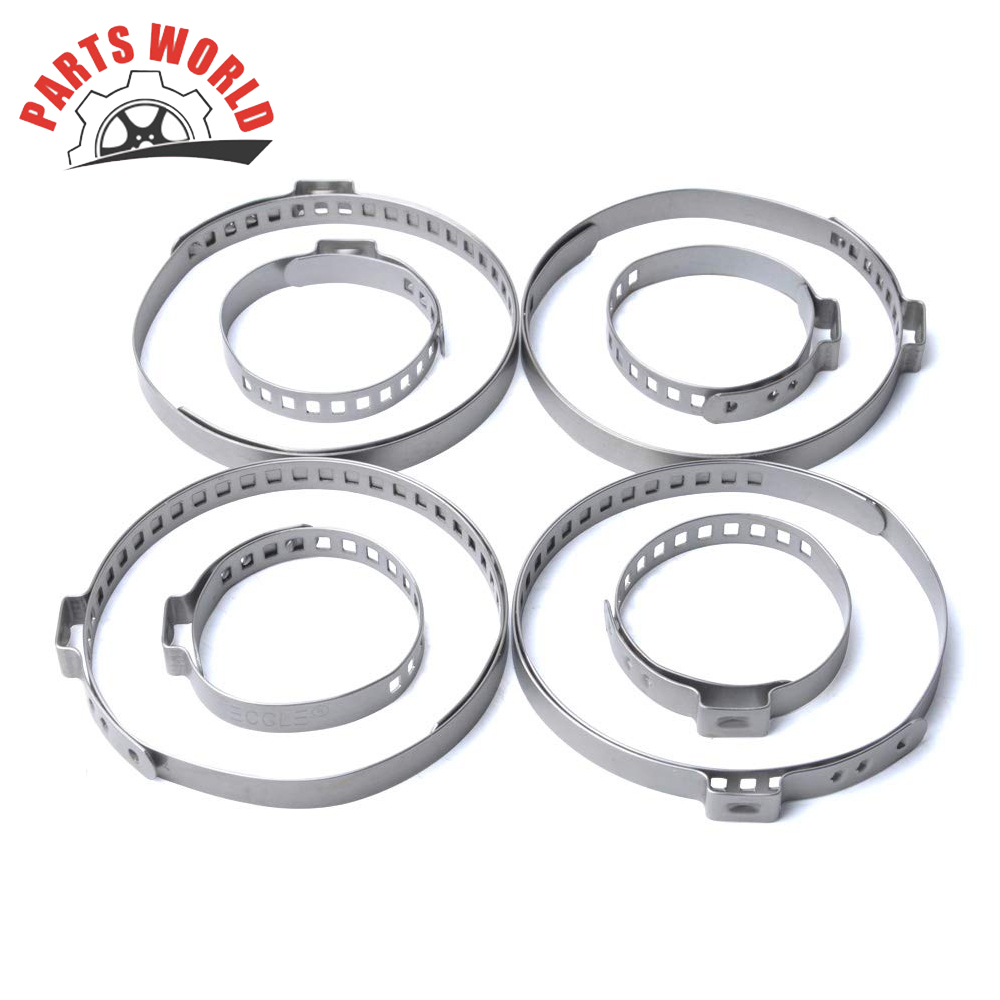 UNIVERSAL STAINLESS STEEL CLAMP CLIP SET FOR DRIVESHAFT CV JOINT BOOT KIT