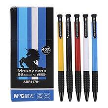 40 pçs/caixa M & G Creative Multi Cor de escritório de Alta Qualidade caneta esferográfica 0.7 milímetros Para Material Escolar Escritório Estacionário ABP41701