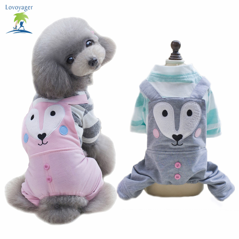 부드러운 목화 개 티셔츠 만화 큰 눈 애완 동물 옷 점프 슈트 강아지에 대한 반팔 셔츠 강아지 치와와 핑크 그린