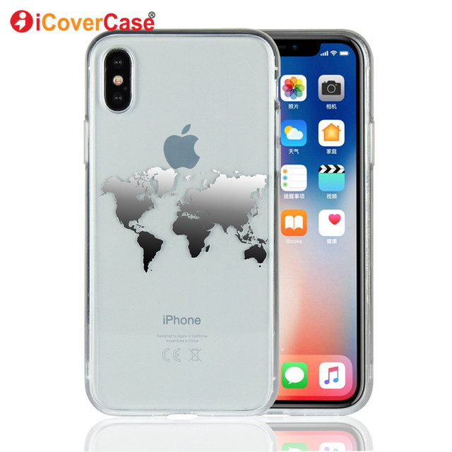 coque iphone x avec carte