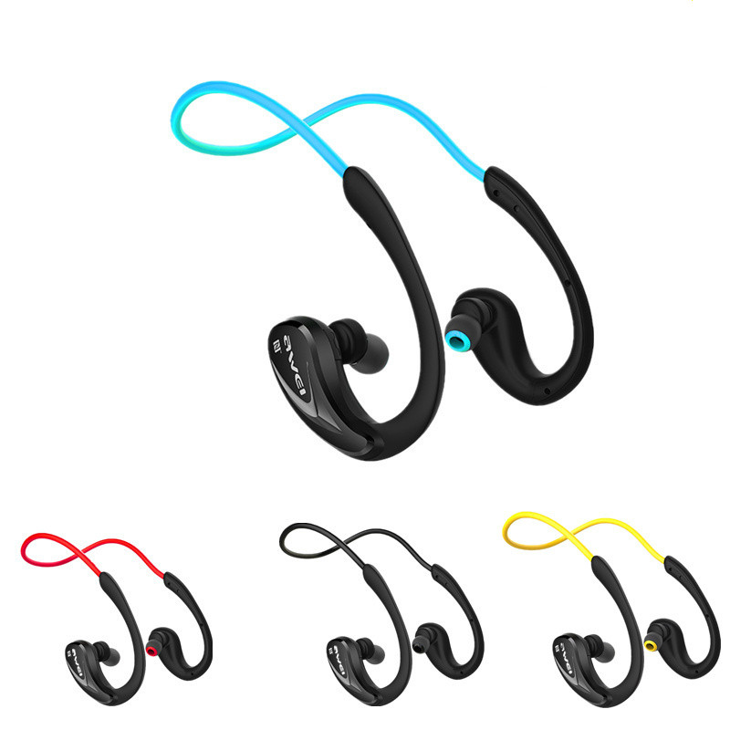2016 Free shipping Bluetooth 4.0 Headphones Original Awei A880BL Wireless Sports Headset Microphone NFC Stereo Earphone 3 colors athlete bluetooth headset wireless headphones sports running stereo earphone with microphone original box