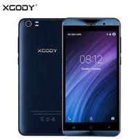 Origional XGODY X22 3G Unlocked Smartphone 5 Inch Dual Sim Android 5 1 MTK6580 Quad Core