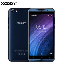 Origional XGODY X22 3G Unlocked Smartphone 5 Inch Dual Sim Android 5.1 MTK6580 Quad Core 1+8G Touch Mobile Phone Cellphone 5.0MP