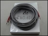 2.5 M 100% brand new pair kabel głośnikowy Audio Audio uwaga Uwaga AN-SPXII kable głośnikowe bananowe terminal z oryginalnym pudełku