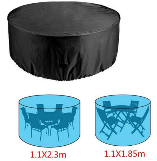 Car Accessories Waterproof Outdoor Patio Furniture Cover Rectangular Garden Rattan Table Cover(China)