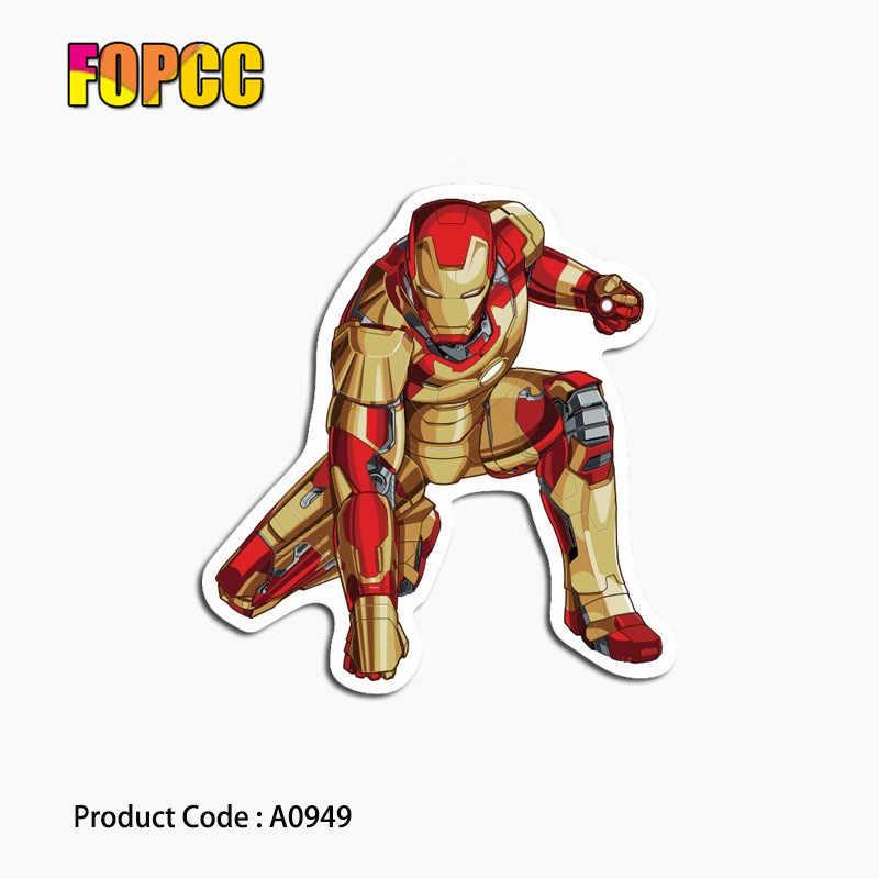 Marvel Super Hero Adesivi Autoadesivo del modello di Per Chitarra di Skateboard Bagaglio Moto Auto Del Telefono Autoadesivo Del Computer Portatile