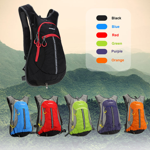 Waterresistant Backpack Shoulder Outdoor Cycling Hydration Backpack Mountain Bicycle Travel Hiking Camping Running Water Bag