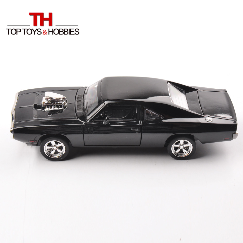Hot Kids Toys 1/32 Scale Diecast Charger Car Model Fast and Furious Model Car Children Collections Gift