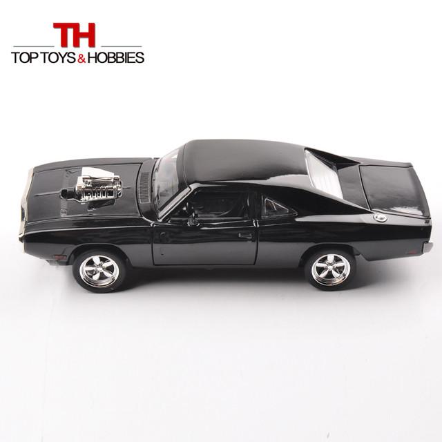 Hot kids toys 1/32 escala diecast modelo de coche dodge charger modelo de coche rápido y furioso niños colecciones regalo
