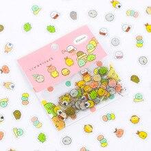 Scrapbooking Label Stationery Sticker Gurashi-Decoration Sumikko Cute Cat Diary Mini