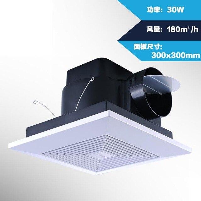10 inch badkamer plafond ventilator mute keuken lampblack ...