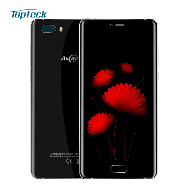 "AllCall Rio S Smartphone 4G 5.5"" IPS MTK6737 Quad Core 2GB+16GB 8.0MP+2.0MP Dual Rear 2.0MP From Camera 3200mAh Mobile Phone"