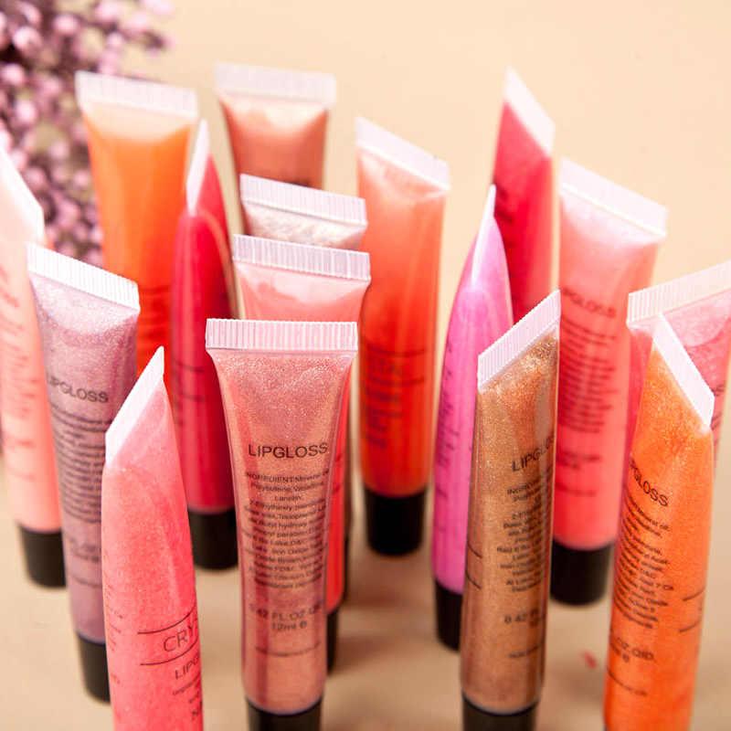 Nouveau brillant à lèvres Sexy rouge à lèvres liquide brillant à lèvres paillettes imperméable à l'eau longue durée hydratant