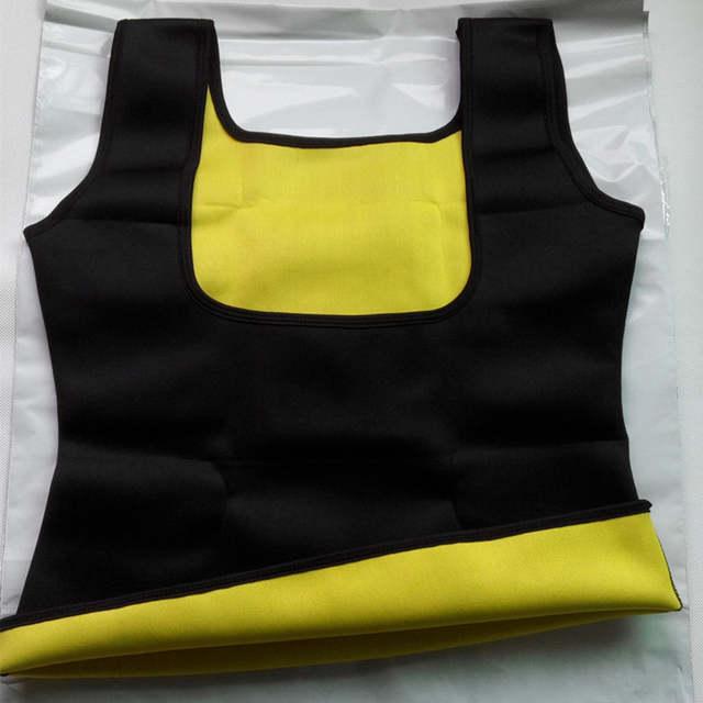c192f91f7226 Ropa moldeadora de sudor para mujer moldeador de cuerpo de fitness cinturón  adelgazante reductor de grasa del vientre Chaleco de neopreno ropa interior  de ...