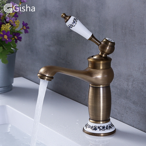 Gisha Bathroom Sink Basin Fauc