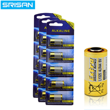 SRISAN 5x/card 15pcs/lot 4LR44 476A L1325 6V Dry Alkaline Battery Cells Car Remote Watch Toys Calculator High Capacity