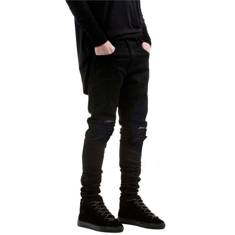 Ripped With Holes Denim Super Skinny Designer Jean  4