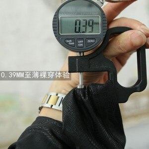 Image 3 - קוריאני אופנה גברים מכנסיים גבוהה אלסטי דק רך עירום ללבוש Experienc חותלות שיער מעצב מכנסי עיפרון ישר סקיני מכנסיים