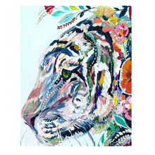 RIHE Abstract Tiger DIY Framed Oil Painting By Numbers Animal Pictures Canvas For Living Room Horse Wall Art Home Decor