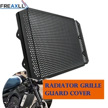купить FZ-09 MT-09 Motorcycle Aluminum Radiator Grille Guard Moto Protector Grill Cover For YAMAHA FZ09 FZ 09 MT09 MT 09 2017 2018 2019 по цене 2964.63 рублей