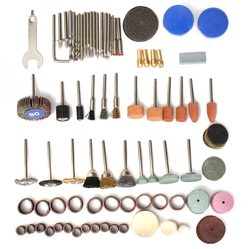 136pcs Wood Metal Mold Engraving Electric Rotary Tool