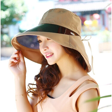 b4cb9132dc899 2015 Fashion Visors Female Summer Cotton Sun Hats Korean UV100 Covered Face  Bicycling Sun Hat Portable Cap For Woman-in Sun Hats from Apparel  Accessories on ...