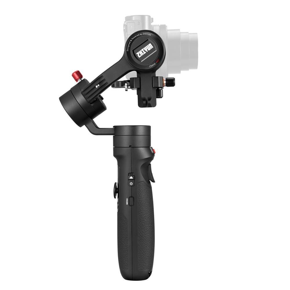 Zhiyun Crane M2 Gru M2 3 Axis Handheld Gimbal Stabilizzatore Portatile All in One per Fotocamere Mirrorless Smartphone Telecamere di Azione - 4