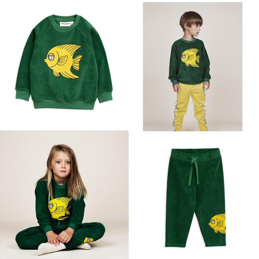 3d1d23707151f Kids Sweatshirts Cat mermaid Baby Girls Clothes Long Sleeve Tops T-shirt  Boys Cartoon Printed Sweatshirt Bobo Choses 2019 SS