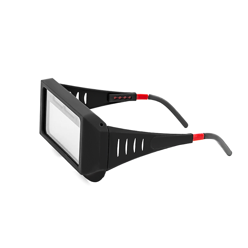 Safety Glasses Radiation Protection For Work Welding Goggles Security Welder Welding Slag Splash Automatic Dimming Protective 100x50mm welding goggles welding tools with automatically dimming glasses welding caps hot red welding mask helmet dhcp 27