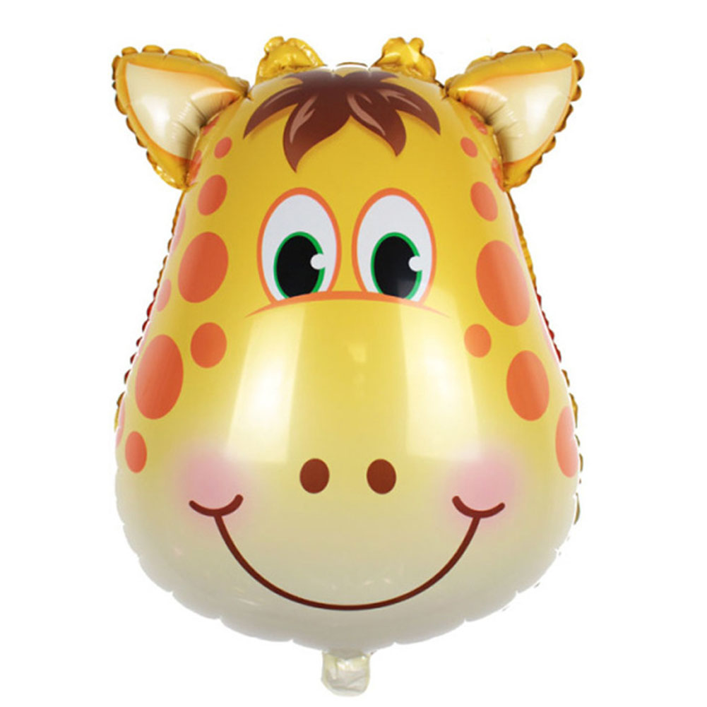 2018 Animals Giraffe Monkey Zebra Foil Balloons Cartoon Aluminum Helium Balloon Birthday Decoration Balony Globos Tide toys gift