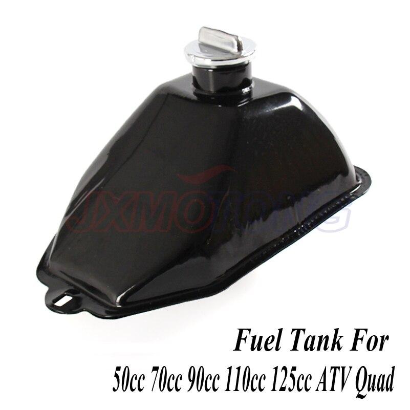Gas Tank Fuel Cap 50cc 70cc 90cc 110cc 125cc ATV Quad Four Wheeler Chinese Black
