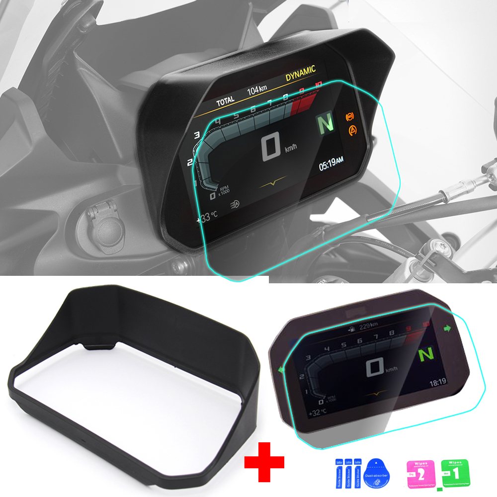 New arrival!!! Speedometer sun visor with protection film For <font><b>BMW</b></font> <font><b>R1200GS</b></font> F850GS F750GS F 850GS 750GS 1250GS Adventure 2018 2019 image