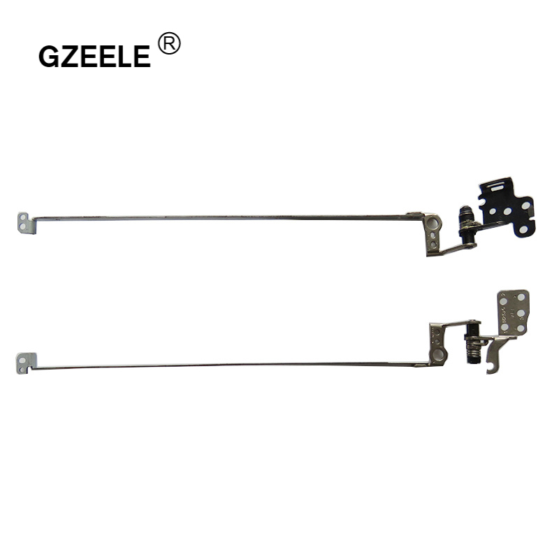 GZEELE New Laptop Lcd Hinges Kit For Acer Aspire E1-571 E1-571G E1-531 E1-531G E1-521 E1-521G NV55 NV55C NV55S NV57 NV57H Hinges