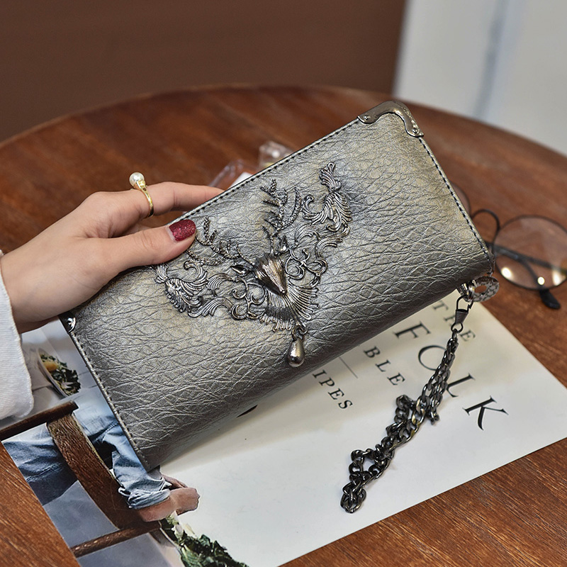 Célèbre marque Designer luxe Long portefeuille femmes portefeuilles soirée embrayage femme sac dames monnaie monnaie femmes sac à main
