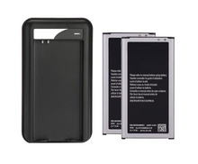 2 X New 2800mAh 3.85V Li-ion Internal Battery Replacement + USB Charger for Galaxy S5 I9600