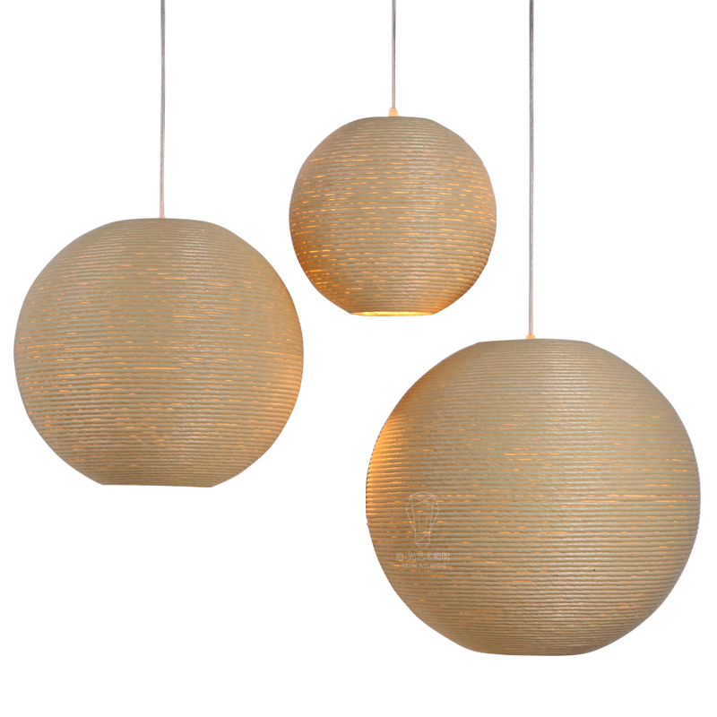 Modern Southeast Asia Pastoral Hand Knitted Rattan Wicker Led E27 Pendant Light For Dining Room Living Room Dia 27/37/42cm 2288 southeast asia style hand knitting bamboo art pendant lights modern rural e27 led lamp for porch