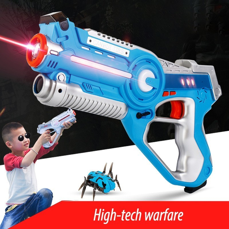 CS Playing Digital Electric Guns Toy Laser Tag With Flash Light Sounds Effect Shooting Game Xmas Birthday Toys For Children Boys slw 8095 2 5 led screen carnival duck home shooting game set w music authentic sounds red