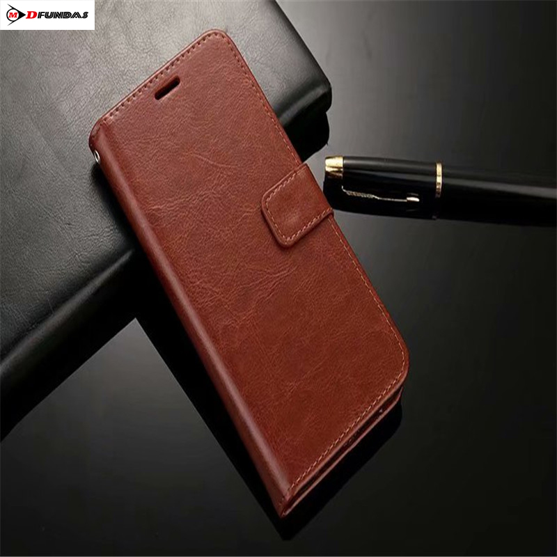 Phone Case On Honor 7C Cases For Coque Huawei Honor 7C Wallet Hforor Cover Flip Leather Luxury Stand Shockproof Protector 5.99(China)